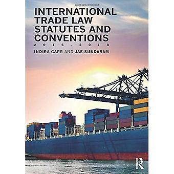 Kansainvälisen kaupan perussäännön ja yleissopimusten 2016-2018