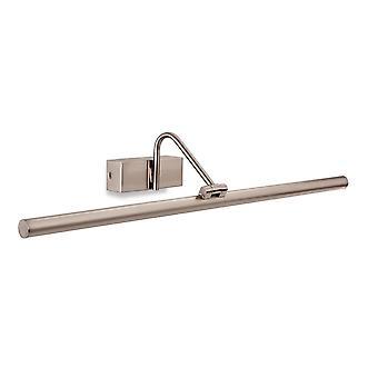 Erstlicht-LED 1 Light Picture Light Brushed Steel-4895BS