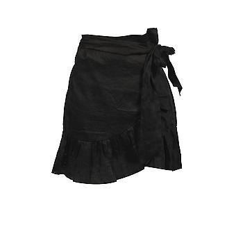 Isabel Marant 19pju074919p070e01bk Women's Black Cotton Skirt