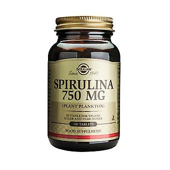 Solgar Spirulina 750mg tabletten, 100