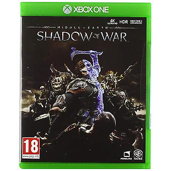 Middle-Earth Shadow of War Xbox One Game (English/Arabic Box)