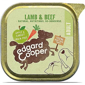 Edgard & Cooper 150g Lamb & Beef with Apple & Carrot Wet Dog Food Tray