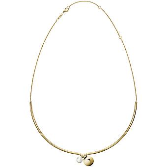 Calvin Klein Bubbly Gold PVD Stainless Steel Necklace Jewellery KJ9RJJ140100