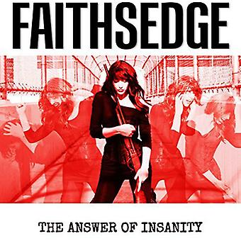 Faithsedge - Answer of Insanity [CD] USA import