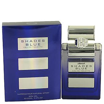 Armaf shades blue eau de toilette spray by armaf   538349 100 ml