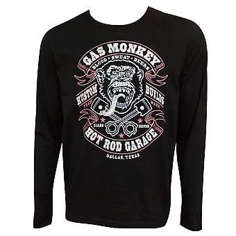 Gas Monkey Blood Sweat et Beer Long Sleeve Shirt