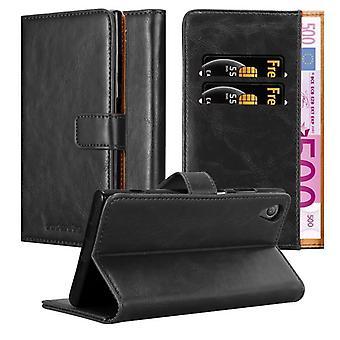 Sony Xperia XA1 PLUS Taitettava puhelinkotelo - Kansi - jalustatoiminto ja korttilokero