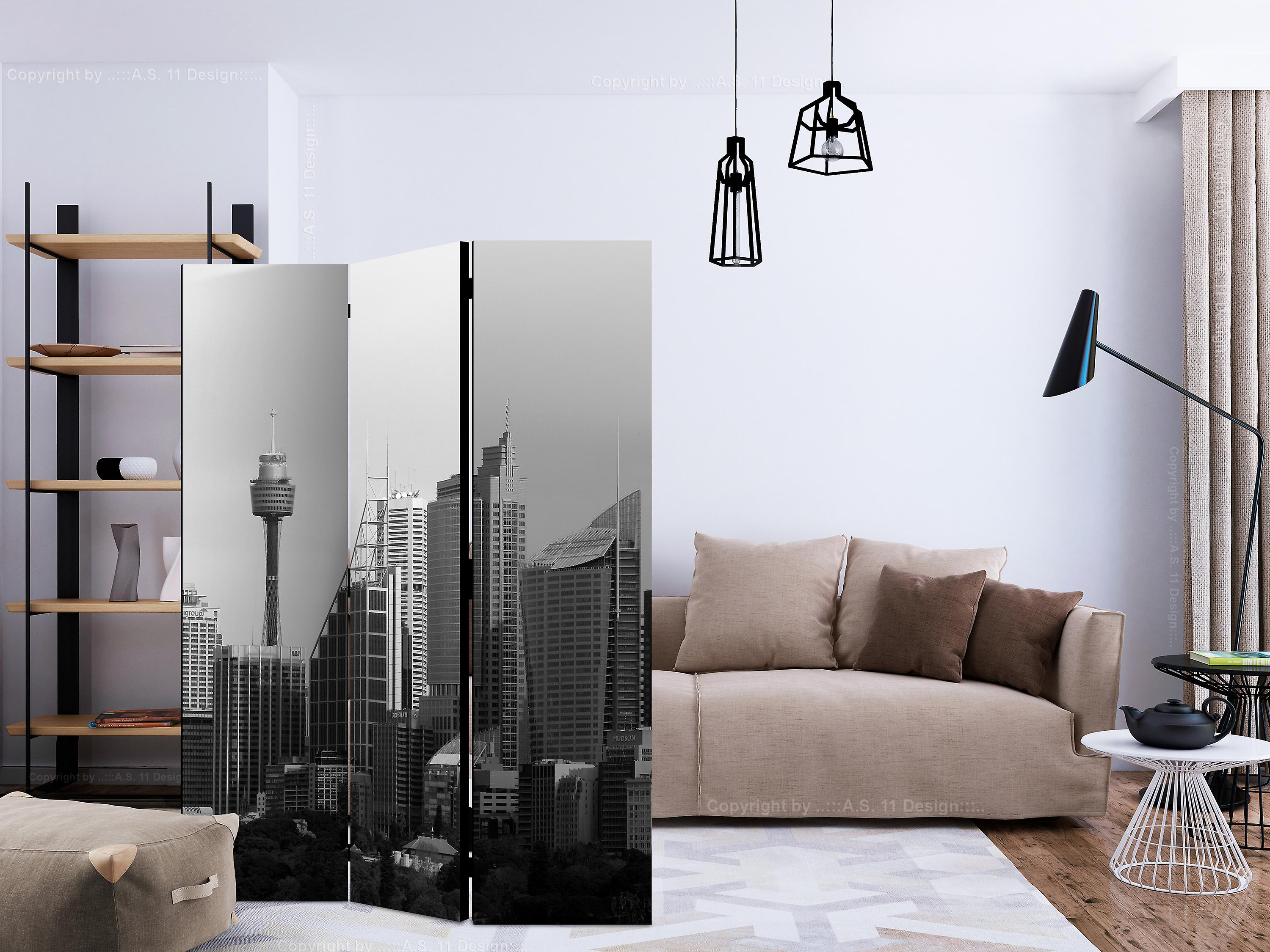 Paravent 3 volets - Skyscrapers in Sydney [Room Dividers]