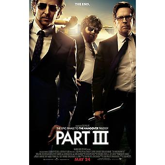 The Hangover Part III Poster Double Sided Regular (2013) Original Cinema Poster (2013)