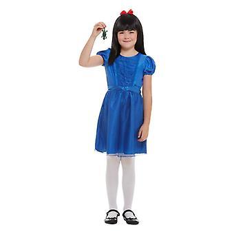 Gyerekek ' s lányok Roald Dahl Matilda jelmez ruha & paróka könyv nap