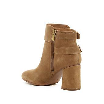 Franco Sarto Womens Kline Leather Square Toe Ankle Fashion Boots