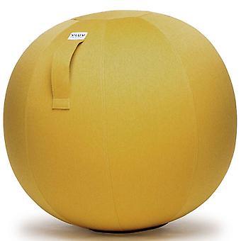 Vluv Leiv Stoff-Sitzball Durchmesser 60-65 cm Mustard / Senfgelb
