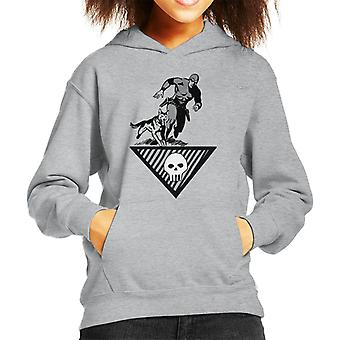 The Phantom & Wolf Running Kid's Hooded Sweatshirt