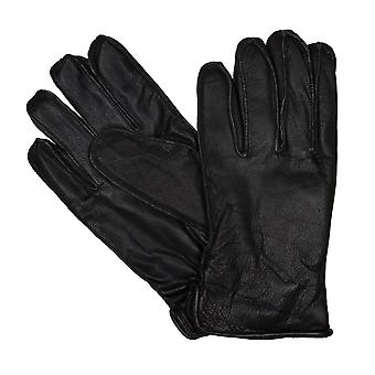 Nappa de chèvre Bugatti hommes gants gants cuir noir 6456