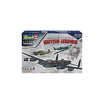 Revell British Legends Gift Set  05696