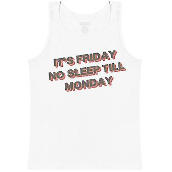 It's Friday No Sleep Till Monday - Mens Vest
