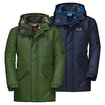 Jack Wolfskin Boys Ice Cave 3 in 1 Jacket