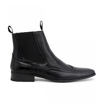 Duca di Morrone - Chaussures - Bottes de cheville - RUDOLPH-BLACK - Hommes - Schwartz - 46