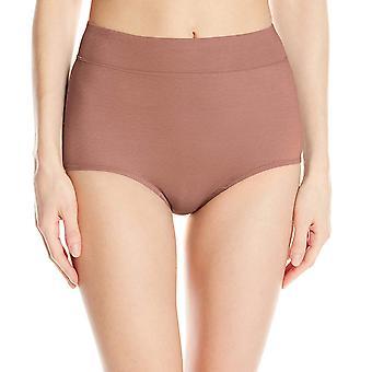 Warner's Women's No Pinching No Problems Modern Brief Panty,, Mocha, Size 6.0