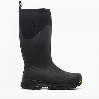 Muck Boots Arctic Ice Tall Mens Rubber Wellington Boots Black