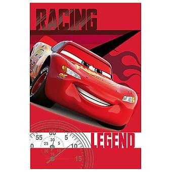 Disney Cars závodní legenda fleece přikrývka
