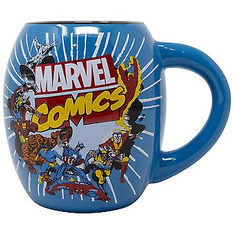 Avengers 18oz Blue Ceramic Mug