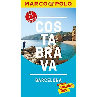 Costa Brava Marco Polo Pocket Travel Guide  with pull out m