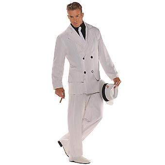 Smooth Criminal Gangster Mobster 1920s Al Capone Scarface Mens Costume OS