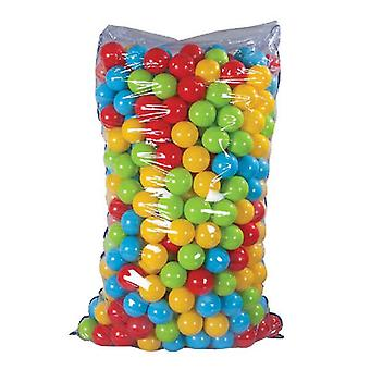 Pilsan ball bath 06182, 500 colorful game balls 7 cm diameter in a bag