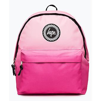 Hype Fade School Sports Gym Backpack Rucksack Bag Peach/Pink