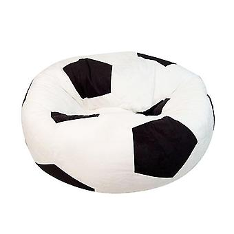 Inflatable Suede Football Shape Sofa Bean Bag Excluding Fillings
