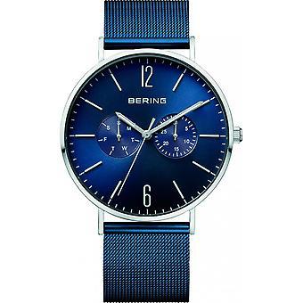 Beobachten Sie Bering 14240-303 - Watch Armband stahlblauen Mehrzweck Mann