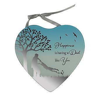 Widdop Bingham Happiness Is Having A Dad Like You Mirror Plaque