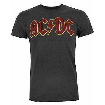 Logotipo ac/DC Comics amplificado Men't-Shirt