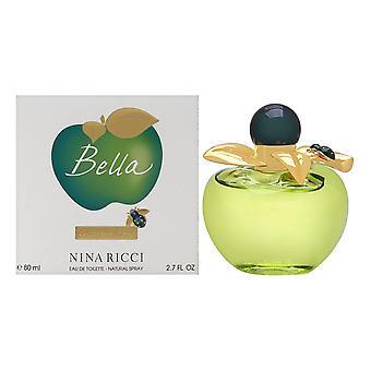 Nina ricci bella voor vrouwen 2,7 oz eau de toilette spray