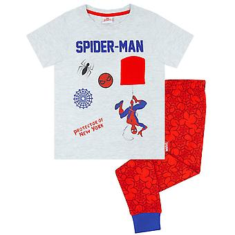 Marvel Spider-Man Boys Pijama largo