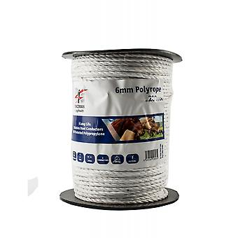 Fenceman Polyrope Electric Fence Wire 6mm