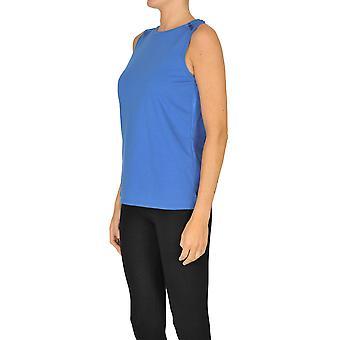 Sweet Matilda Ezgl314033 Women's Blue Cotton Top