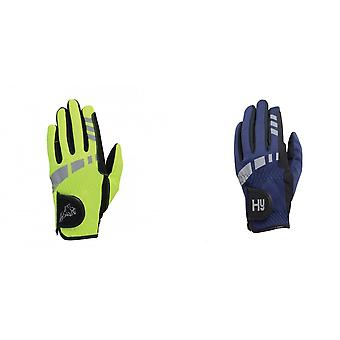 Hy5 Childrens/Kids Extreme Reflective Softshell Riding Gloves