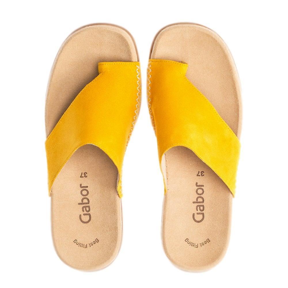 Gabor Lanzarote Komfortabel Sandal Mules I Solen