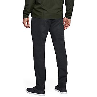 Under Armour Men-apos;s Showdown Chino Tapered Golf Pants, Black (001)/Black, 40/30