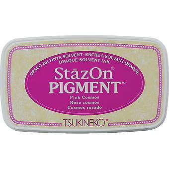 Stazon Pigment Encre Pad-Pink Cosmos