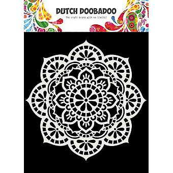 Néerlandais Doobadoo Dutch Mask Art 15x15cm Mandala 470.715.619