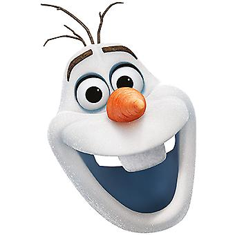 OLAF Frozen Card Mask mask made of cardboard for adults