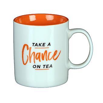 Musicology Mug - Gift Boxed - Take a Chance on Tea - Fun Music - 300ml