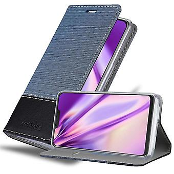 Cadorabo fall för Cubot P20 fall täcka - mobiltelefon fall med magnetiskt lås, stå funktion och kortfack - Case Cover Skyddande case Book Folding Style