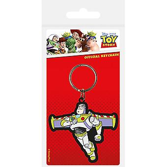 Toy Story Buzz Lightyear Rubber Sleutelhanger