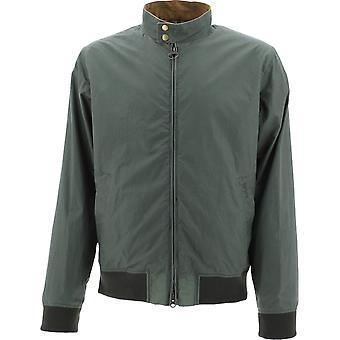 Barbour Bacps1759gn31 Veste d'outerwear en coton vert