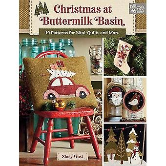 Christmas at Buttermilk Basin - 19 Patterns for Mini-Quilts and More b