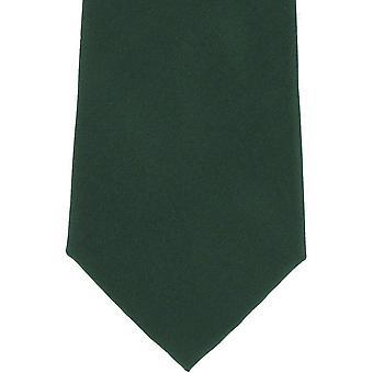 Michelsons Lontoo tavallinen silkki solmio - vihreä